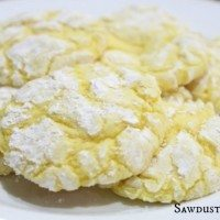 Easy lemon drop cookie recipe