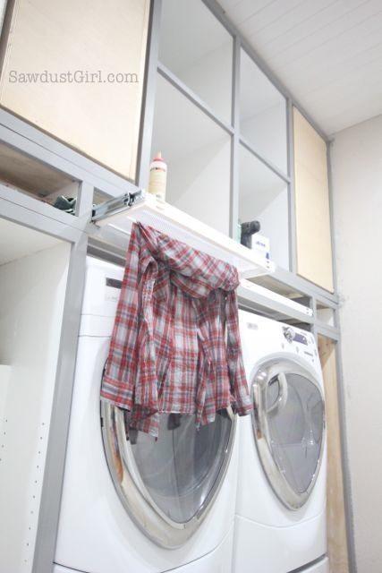 Laundry Room Cabinet Door Ideas