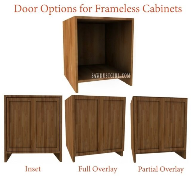 Frameless Cabinet Door Hinges