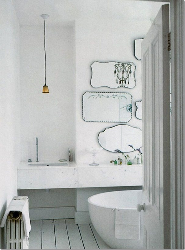 Update Your Bathroom with a DIY Mirror