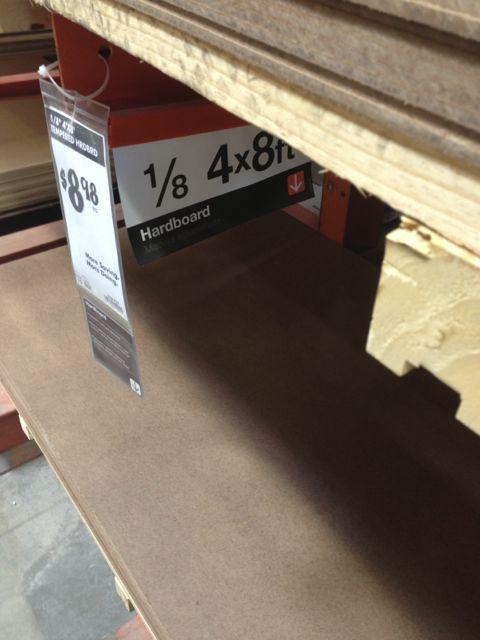 what is hardboard
