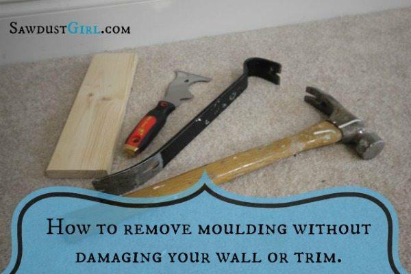 removing baseboard without damage sawdust girl. Black Bedroom Furniture Sets. Home Design Ideas