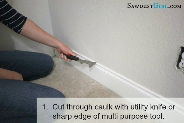 Perfect How To Remove Moulding Without Damaging Wall Or Trim