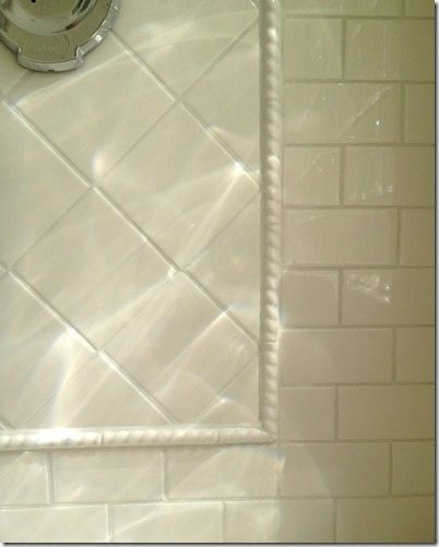 How to bevel cut tile