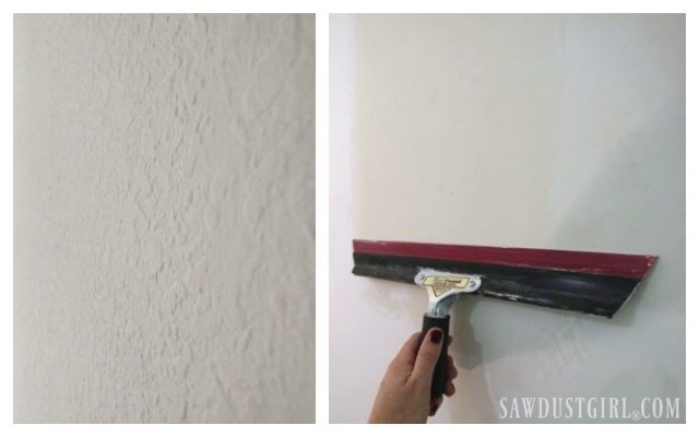 How To Skim Coat Get Rid Of Wall Texture
