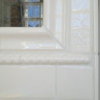 How to grout tile with a decorative profile.