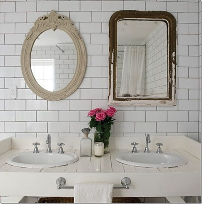 Update Your Bathroom With A Diy Mirror Sawdust Girl