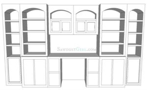 Living Room Office Plan – Kelly C's project part 1