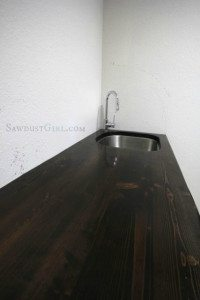 How to build a wood countertop