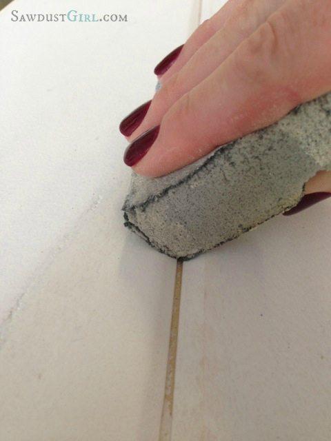 master closet plank wall at SawdustGirl.com