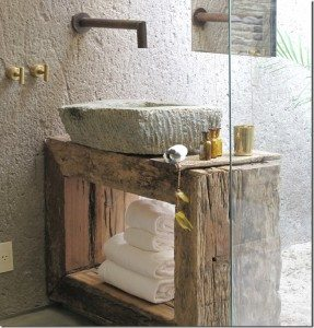 Decorating with Stone Basins