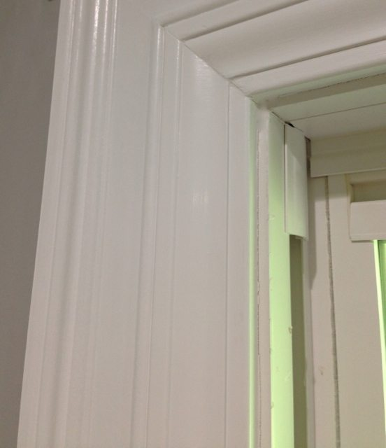 Create awesome door and window trim molding by layering for Door moulding