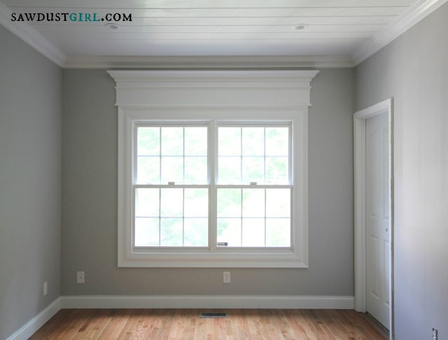 Interior window trim contemporary windows and interior for Interior window casing styles