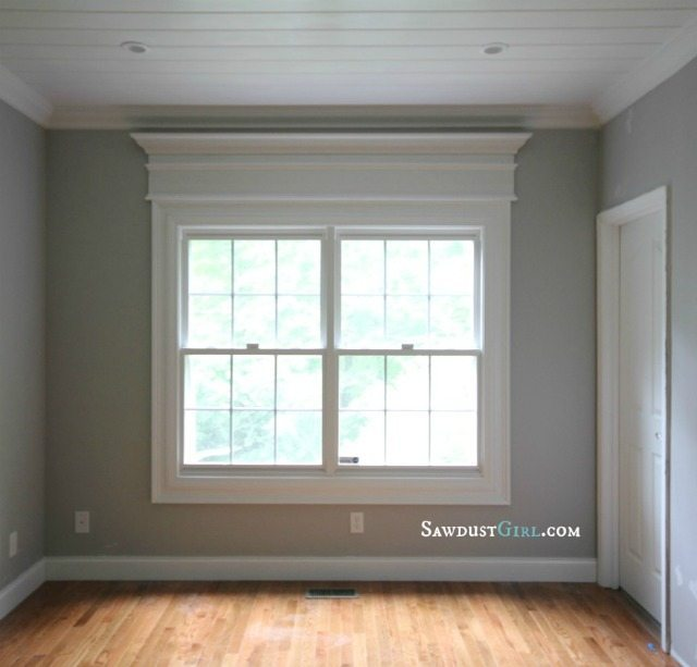 How to bulk up your window casing in 5 easy steps for Types of living room windows