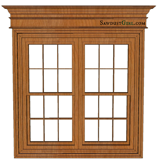 Wood Window Casing : Add exterior window trim joy studio design gallery