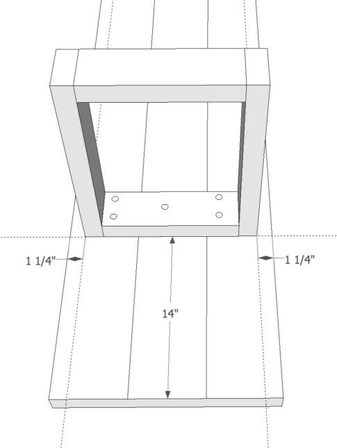 X Leg Bench Plans from @Sawdust Girl