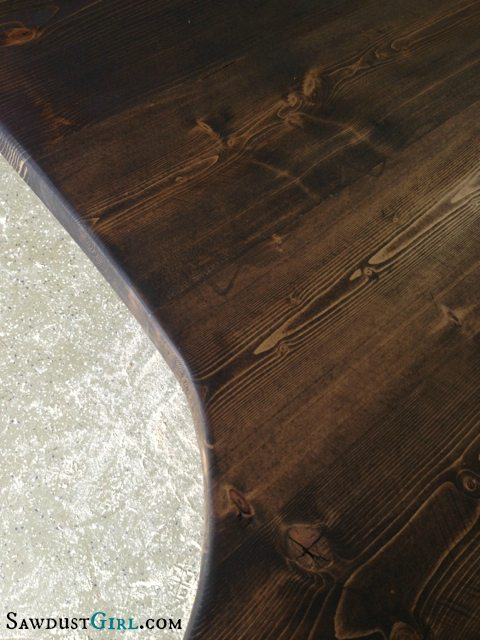 Easy DIY wood countertops are the cheapest countertops EVER. Make an 8' countertop for about $25.