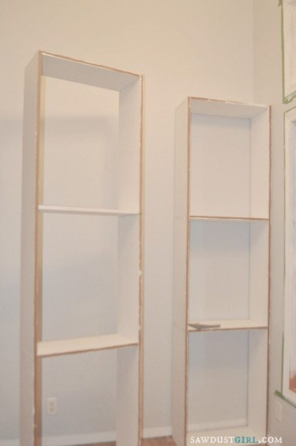 DIY bookcase with plans