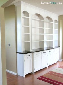 Built-in Dining Room Buffet – Val's reveal