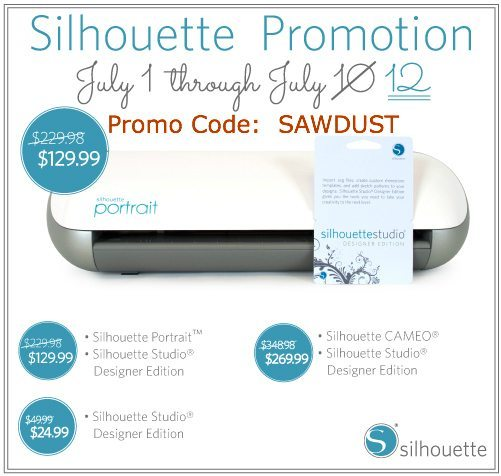 Silhouette promo code-SAWDUST