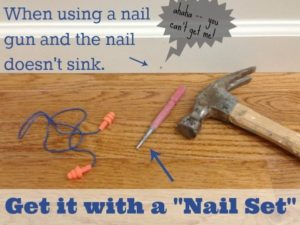 when, why and how to use a Nail Set
