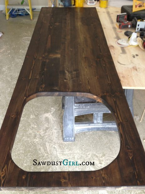 Kitchen sink wood countertop - around $25!