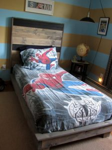Platform Bed for Boy's Bedroom