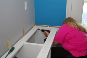 Cara's Office Built ins – 5