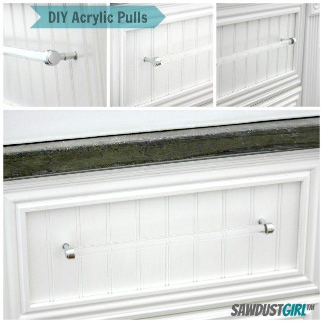 Diy Acrylic Drawer Pull