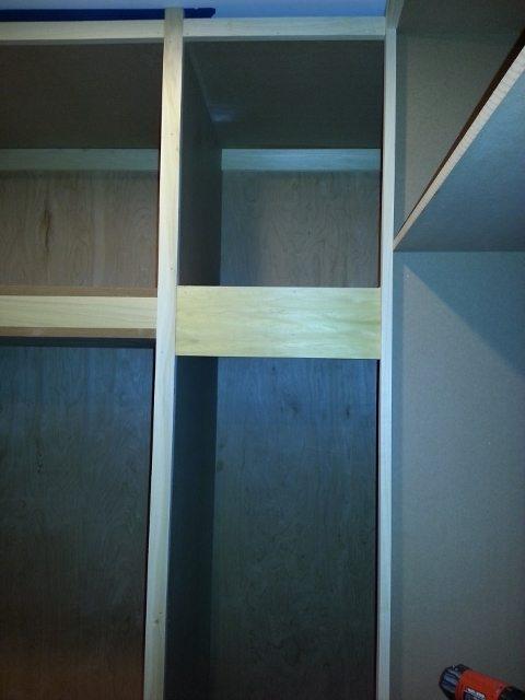 building custom closet wardrobes