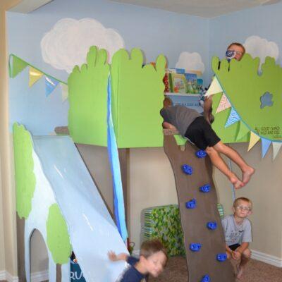 Magic Indoor Treehouse