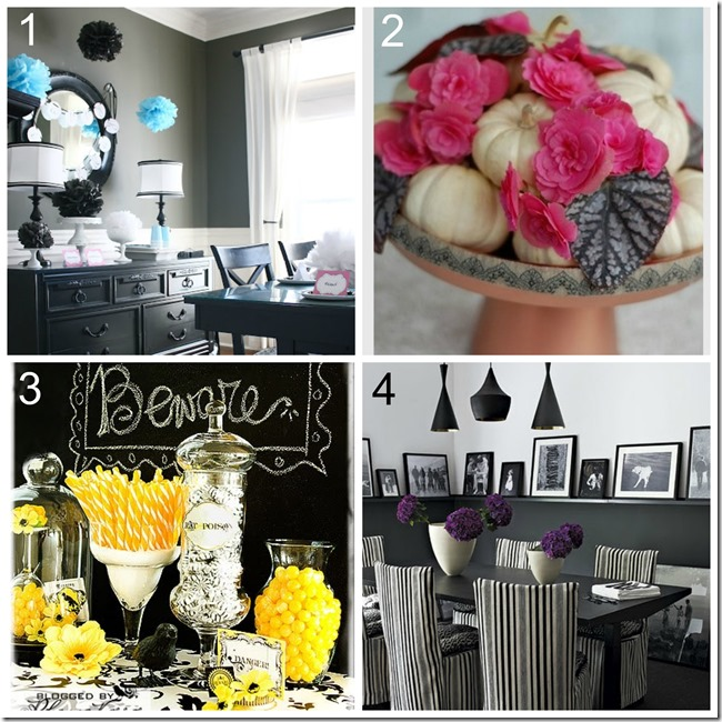 Decor trends for halloween_pop of color