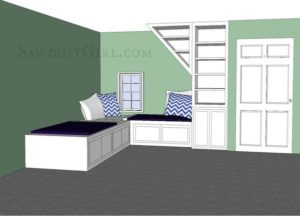 Jenn's Twin Daybed Nook – 1