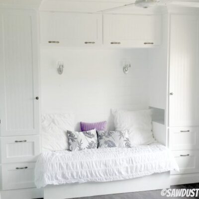Kristy's Built-in Reading Nook