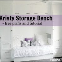 Kristy storage bench