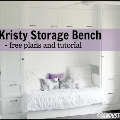 Kristy Storage Bench – Queen Platform Bed Extension