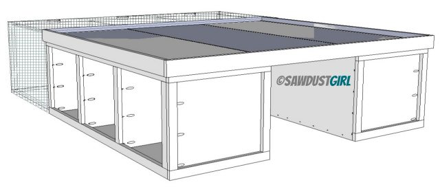 Permalink to how to build a platform bed with casters