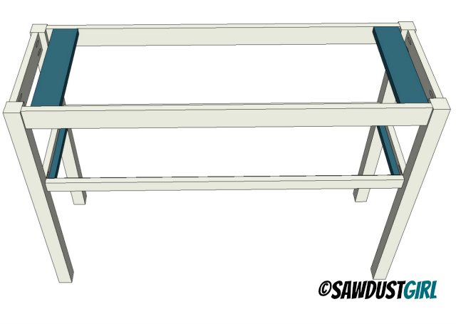console table free plans and tutorial