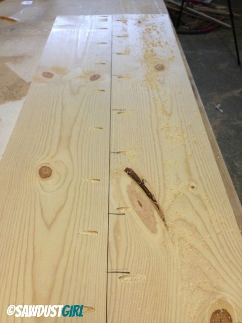 Two Toned Diy Console Table Sawdust Girl 174
