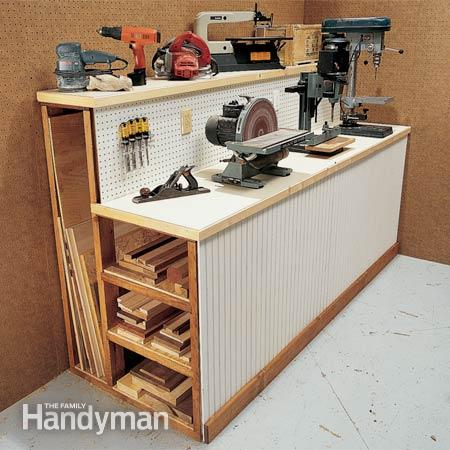 Wood Workshop Storage Ideas