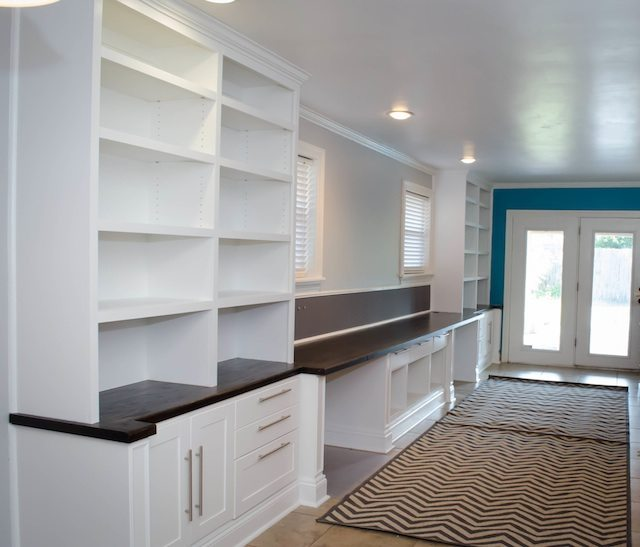 Built-in office suite.  All DIY!  http://sawdustgirl.com