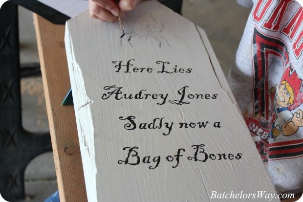 painting tombstone sayings