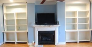 Fireplace Wall Built-ins – Courtney 4