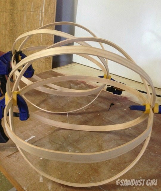 Diy Decorative Wood Spheres Sawdust Girl 174