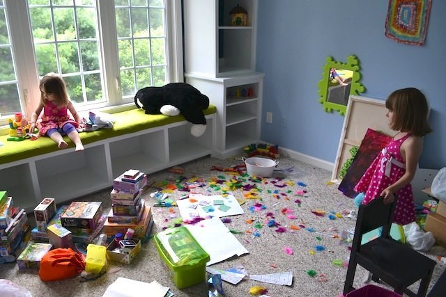 Lived in playroom.   http://sawdustdiaries.com