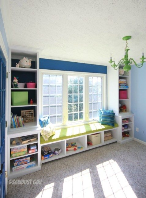 Robin's playroom built-ins