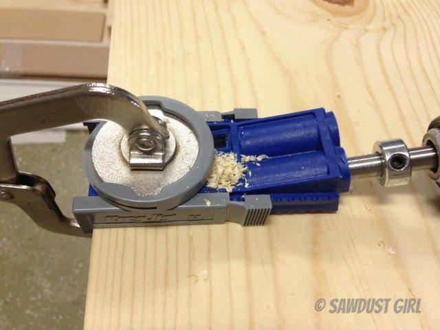 Pocket Hole Jig Tool Tip Sawdust Girl 174