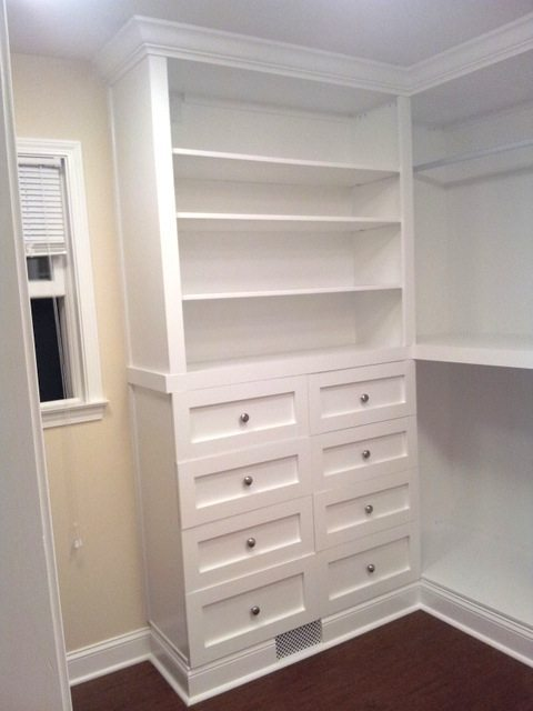 Custom Built In Closet Sawdust Girl 174