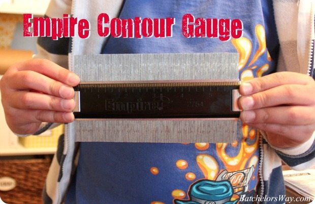 molding profile contour gauge