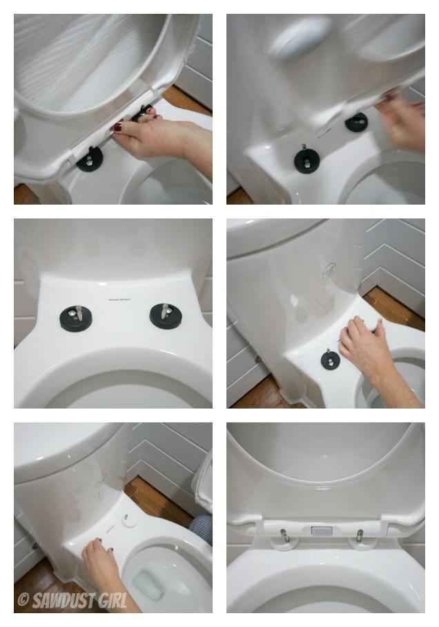 Toilet Talk Installation Of A One Piece Wonder Sawdust